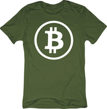 Bitcoin Rounded Logo / Symbol Tshirt | BTC Cryptocurreny Short-Sleeve Unisex T-Shirt