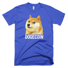 Dogecoin DOGE Distressed Crypto Shirt Short-Sleeve T-Shirt American Apparel