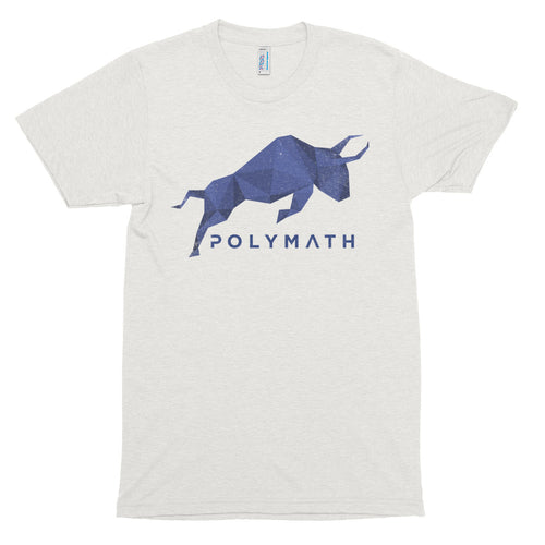 Polymath POLY Coin (Distressed) Logo Symbol Shirt Short sleeve soft t-shirt