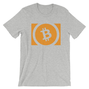 Bitcoin Cash (BCH) Simple Logo Shirt | Cryptocurrency Short-Sleeve Unisex T-Shirt
