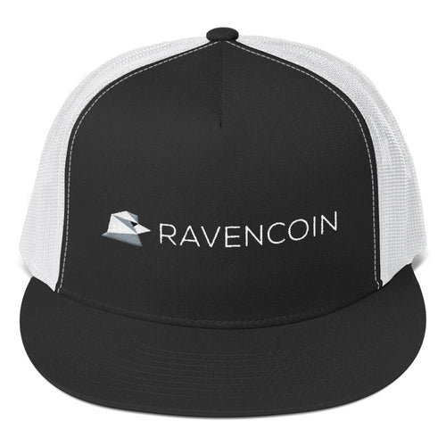 Ravencoin RVN Embroidered Trucker Cap