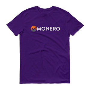 Monero Logo Symbol (Distressed) Short-Sleeve T-Shirt