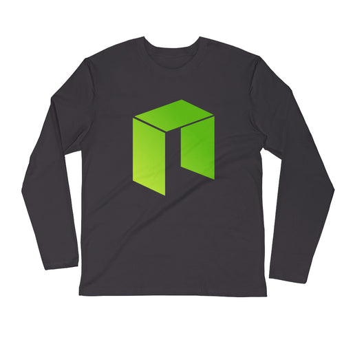 Neo Logo Long Sleeve Fitted Crew