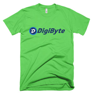 Digibyte DGB Logo Symbol Cryptocurrency Shirt American Apparel Short-Sleeve T-Shirt