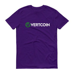 Vertcoin VTC Logo Symbol (Distressed) Short-Sleeve T-Shirt