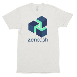 Zencash ZEN Logo Symbol Shirt Cryptocurrency Short sleeve soft t-shirt