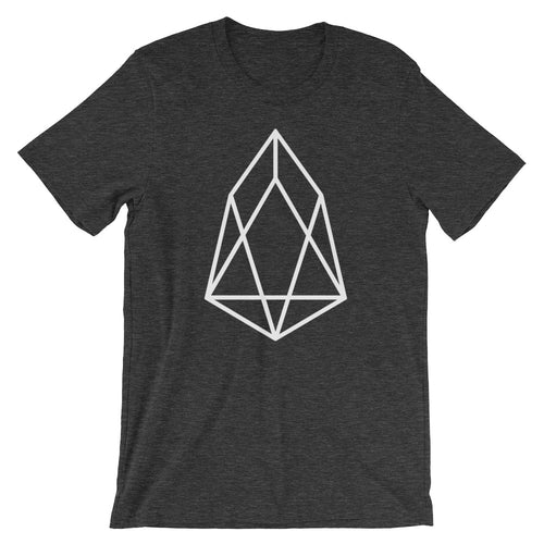 EOS Logo Tshirt | EOS.io Cryptocurrency Short-Sleeve Unisex T-Shirt