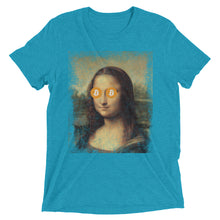 Mona Lisa Bitcoin BTC Funny Shirt Short sleeve t-shirt