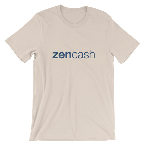 Zen Cash Simple Logo Tee | Cryptocurrency Zencash Short-Sleeve Unisex T-Shirt