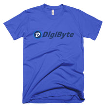 Digibyte DGB Distressed Logo Symbol Cryptocurrency Shirt American Apparel Short-Sleeve T-Shirt
