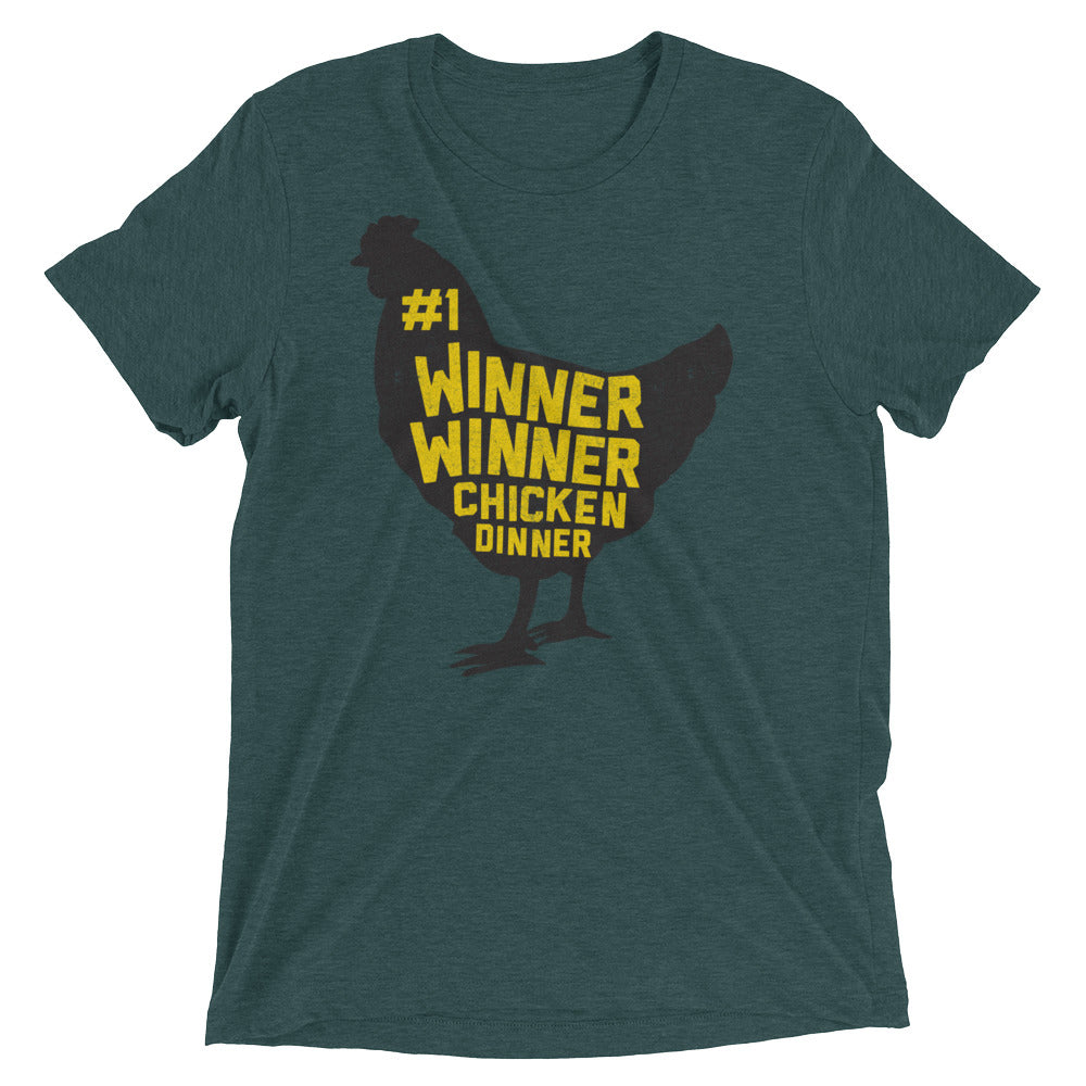 Winner Winner Chicken Dinner Shirt PlayerUnknown's Battlegrounds PUBG Short sleeve t-shirt