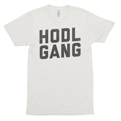 HODL Gang Bitcoin Crypto Shirt American Apparel Short sleeve soft t-shirt