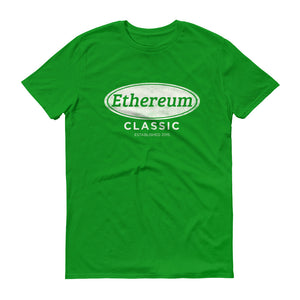 Ethereum Classic Logo T Shirt Unique