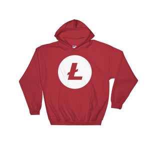 Litecoin Logo Hooded Sweatshirt