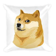 Dogecoin Doge Coin Square Pillow