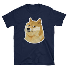 Dogecoin DOGE Distressed Crypto Shirt VALUE Short-Sleeve Unisex T-Shirt
