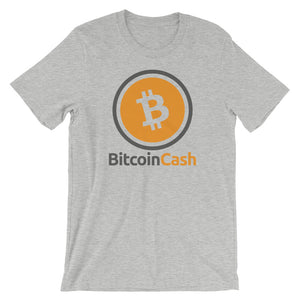 Bitcoin Cash (BCH) Circle Logo Shirt Short-Sleeve Unisex T-Shirt