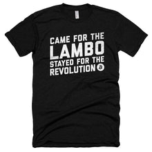 Bitcoin Came For The Lambo, Stayed For The Revolution BTC Shirt Short sleeve soft t-shirt