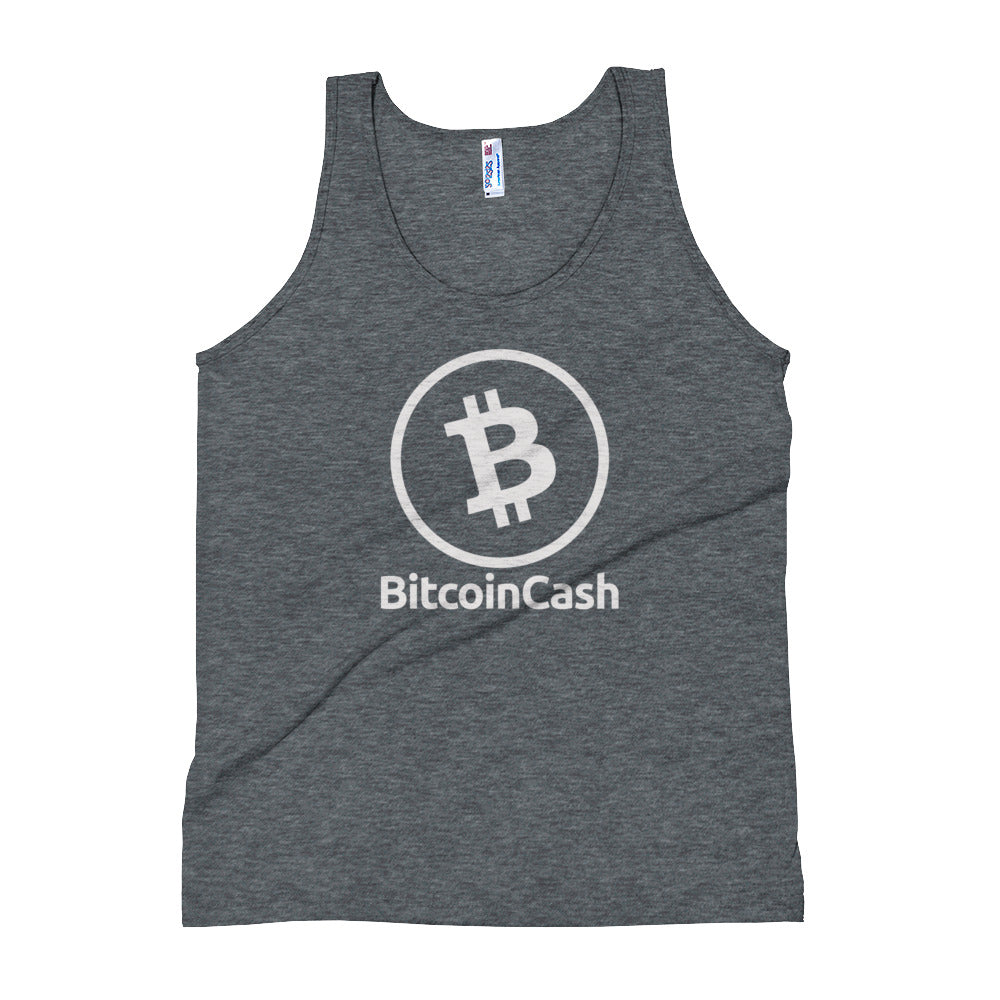 Bitcoin Cash (BCH) Unisex Tank Top