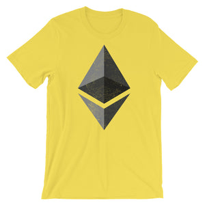 Ethereum Logo (Distressed) Short-Sleeve Unisex T-Shirt