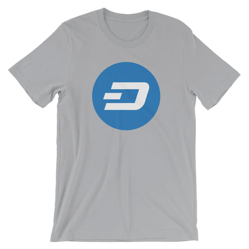Dash Logo Cryptocurrency Shirt Short-Sleeve Unisex T-Shirt