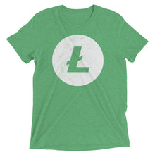 Litecoin Logo (Distressed) Short sleeve t-shirt