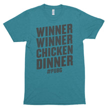 Winner Winner Chicken Dinner Shirt PlayerUnknown's Battlegrounds PUBG Short sleeve soft t-shirt