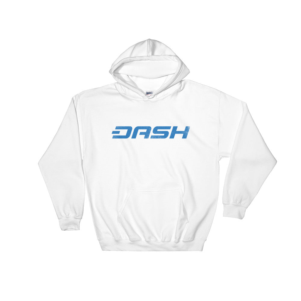 Dash Vintage Look Logo Hooded Sweatshirt
