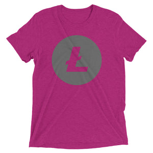 Litecoin Logo Short sleeve t-shirt