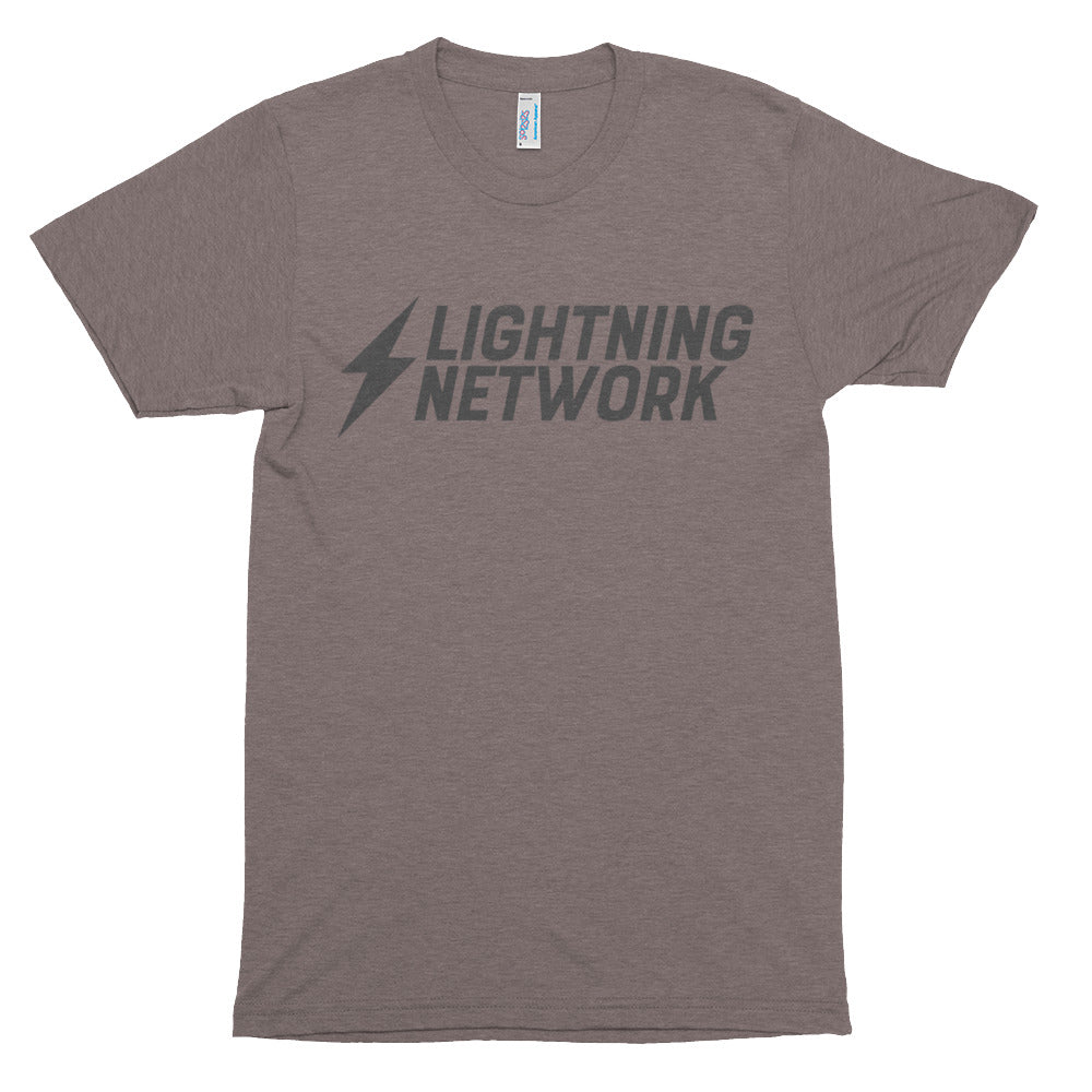 Bitcoin Lightning Network Tshirt | Cryptocurrency Short sleeve soft t-shirt