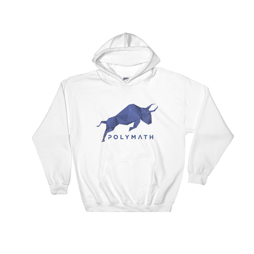 Polymath POLY Coin (Distressed) Logo Symbol Shirt Hooded Sweatshirt