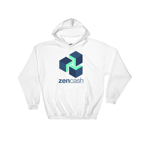 Zencash ZEN Logo Symbol Shirt Cryptocurrency Hooded Sweatshirt