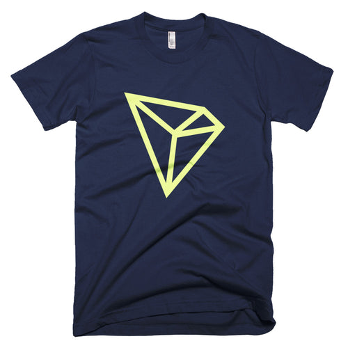TRON TRX Logo Tshirt | American Apparel Cryptocurrency Short-Sleeve T-Shirt