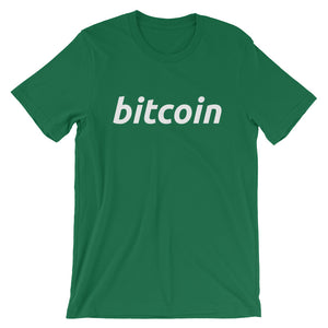 Bitcoin BTC Simple Logo Shirt Short-Sleeve Unisex T-Shirt