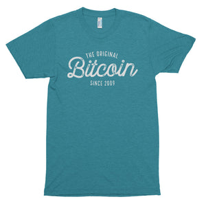 Original Bitcoin Since 2009 BTC Script Logo Shirt Short sleeve soft t-shirt