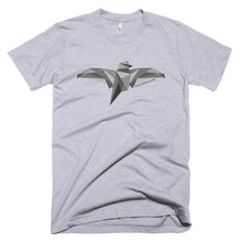 Ravencoin Bird Wings RVN Logo Symbol Crypto American Apparel Shirt Short-Sleeve T-Shirt