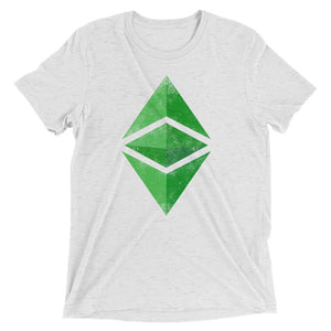Ethereum Classic Vintage Look Logo Tee | ETC Short sleeve t-shirt