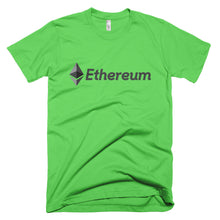 Ethereum (ETH) Logo Symbol Crypto Shirt Short-Sleeve T-Shirt