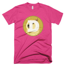 Dogecoin DOGE Crypto Shirt American Apparel Short-Sleeve T-Shirt