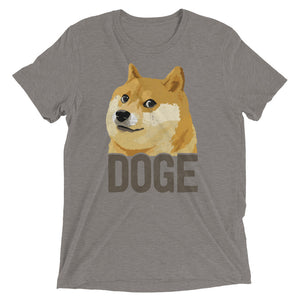 Dogecoin DOGE Distressed Crypto Shirt Short sleeve t-shirt