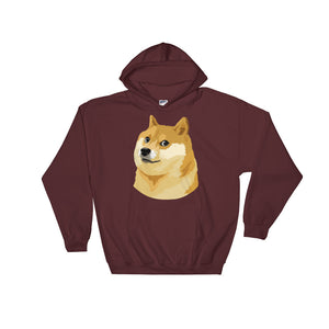 Dogecoin DOGE Crypto Shirt Hooded Sweatshirt