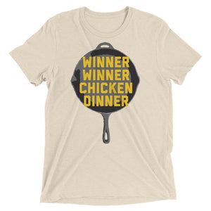 Winner Winner Chicken Dinner Shirt PlayerUnknown's Battlegrounds PUBG Pan Short sleeve t-shirt