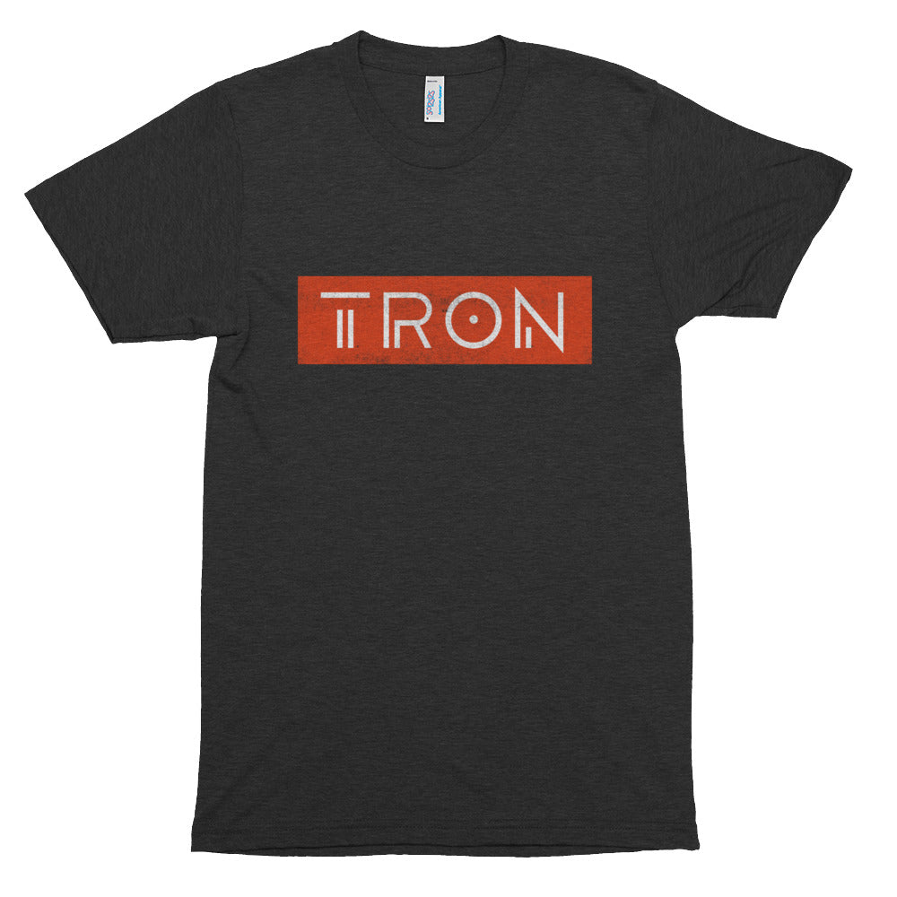 TRON (TRX) New Logo Tshirt | Cryptocurrency Symbol Shirt | Super Soft American Apparel Short-Sleeve Unisex T-Shirt