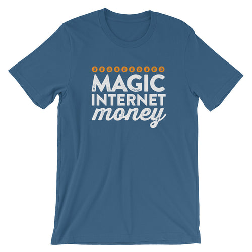 Magic Internet Money Crypto Bitcoin Short-Sleeve Unisex T-Shirt