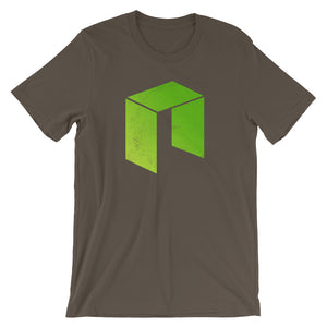 Neo Logo (Distressed) Short-Sleeve Unisex T-Shirt