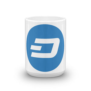 Dash Logo Cryptocurrency Mug