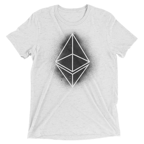 Ethereum ETH Logo Symbol Spray Paint Crypto Shirt Short sleeve t-shirt