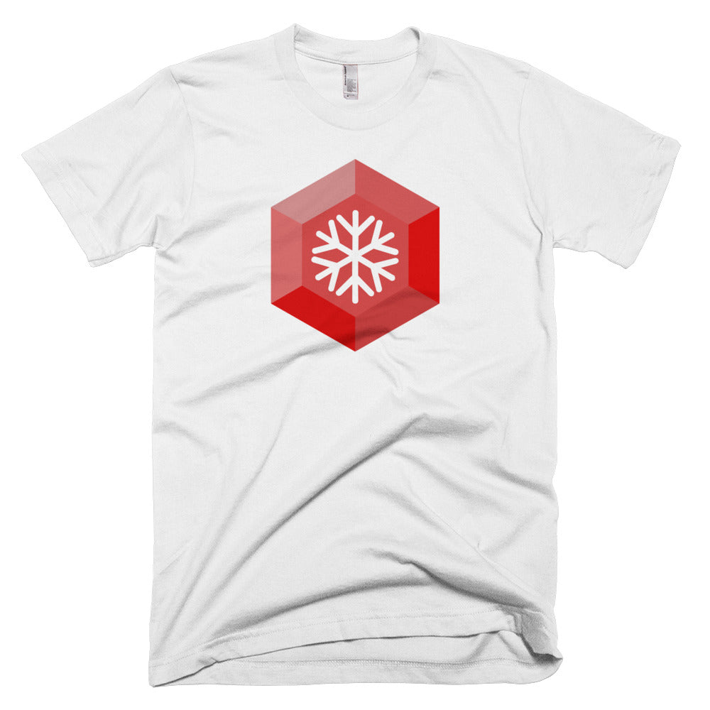 Snowgem Logo Symbol Cryptocurrency ShirtShort-Sleeve T-Shirt