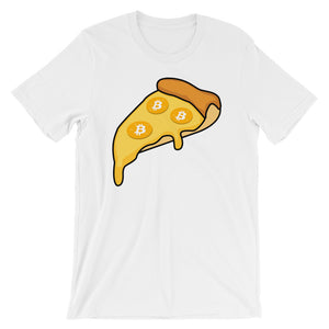 Bitcoin Pizza Cryptocurrency Short-Sleeve Unisex T-Shirt
