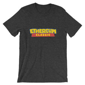 Ethereum Classic Toy Story Logo T shirt